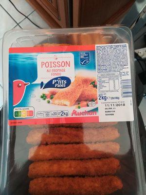 Les P'tits panés, poisson au fromage fondu - Produit - fr