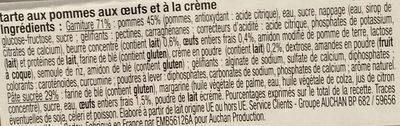 Tarte Normande - Inhaltsstoffe - fr