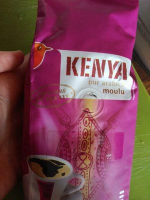 Kenya pur arabica moulu - Produit - fr