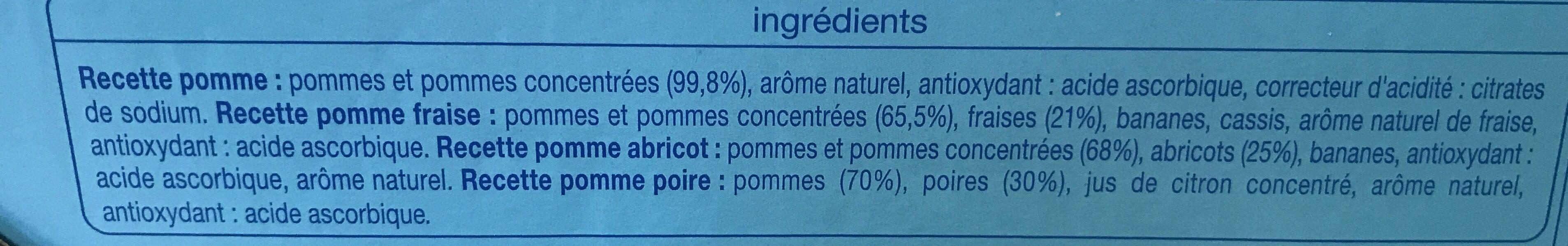 Multi Variétés - Ingrédients - fr