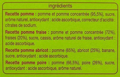 Multi variétés auchan - Ingrédients - fr