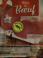 Rôti de Boeuf 4 tranches - Product