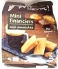 Mini Financiers aux amandes - Produit