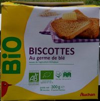 Biscottes au germe de blé - Produit