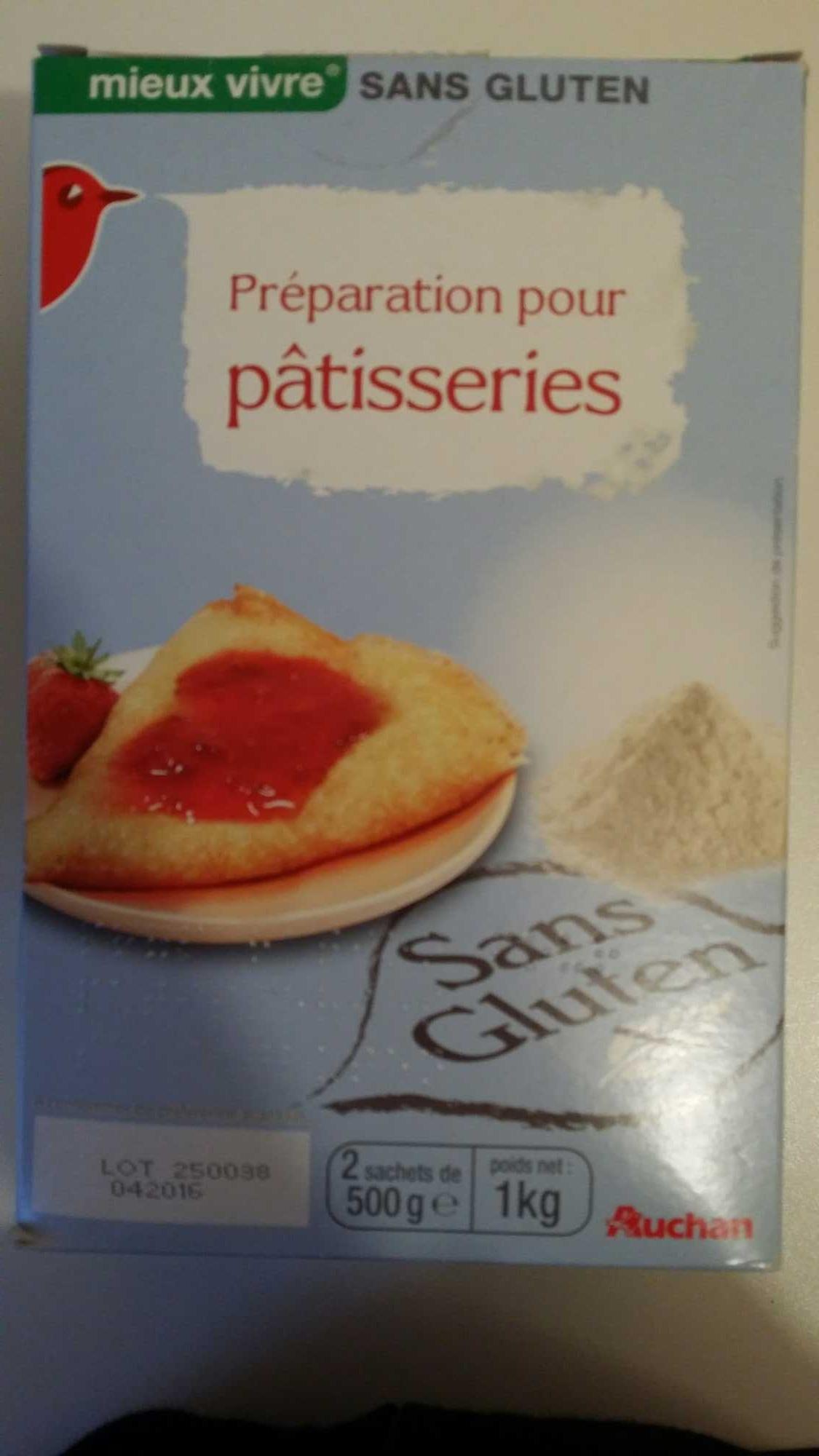 Préparation pour pâtisseries - Product - fr