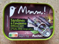 Sardines à l'ancienne millésime 2019 à l'huile d'olive vierge extra - Produit - fr