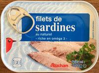 Filets de sardines au naturel - Product - fr