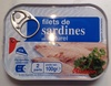 Filets de sardines au naturel (2 parts) - Product