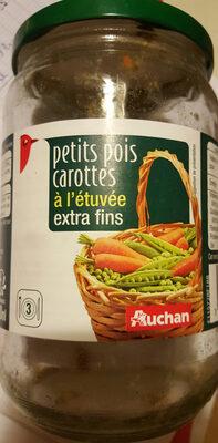 Petits pois carottes à l'étuvée extra fins - Product
