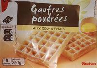 Gaufres Poudrées aux Œufs Frais - Produit