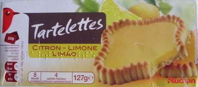 Tartelettes Citron (8 biscuits) - Product