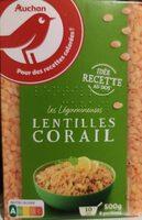 Lentilles corail - 500 g - Auchan - Product - fr