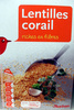 Lentilles corail - 500 g - Auchan - Produit