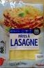 Pâtes à lasagne - Produit