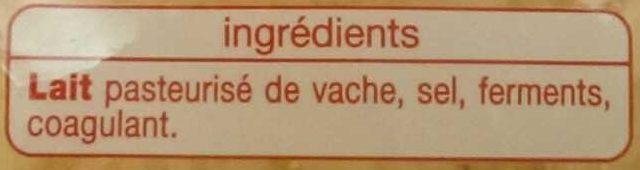 Emmental Râpé (28 % MG) - Ingrediënten