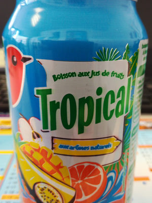 Auchan-tropical Fruit Drink-330ml-france - Product - fr