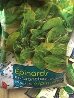 Épinards en branches en portions - Product - fr