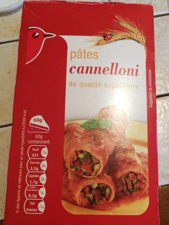 Cannelloni Nature - Produit