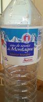 Eau de source de montagne source Pyrenea - Product - fr