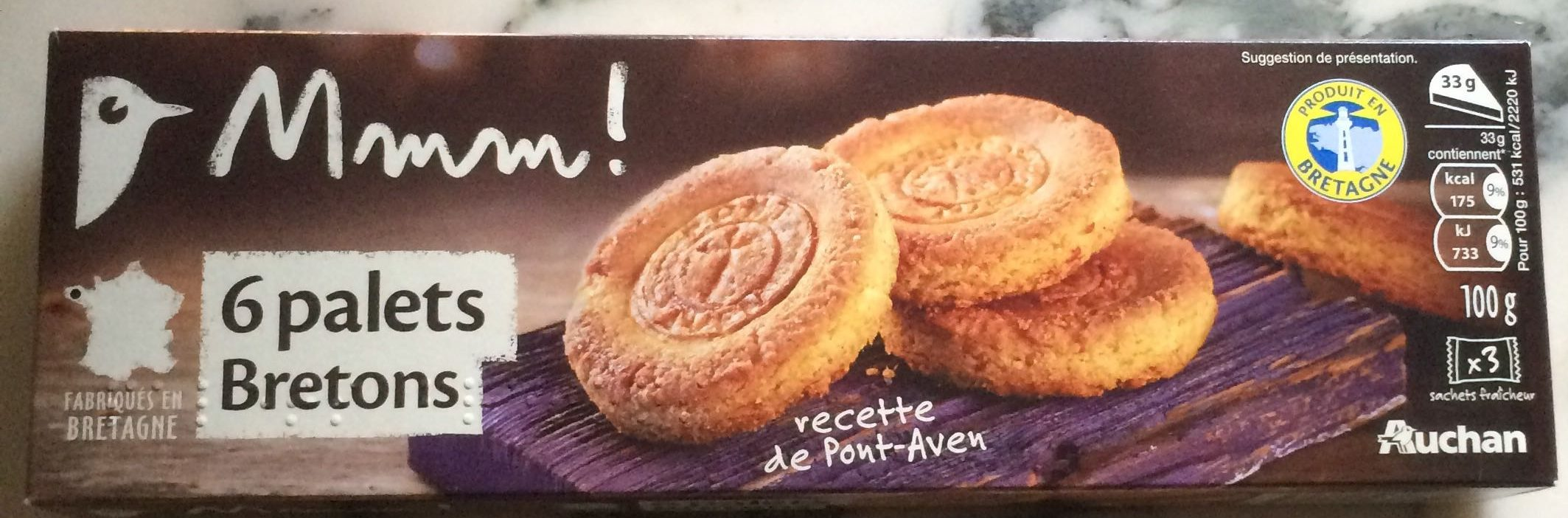 6 palets bretons - Product