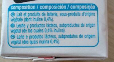 Boisson lactée - Ingrédients - fr