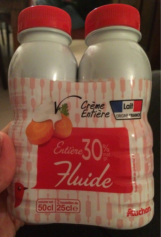 Crème entière fluide - Produit - fr