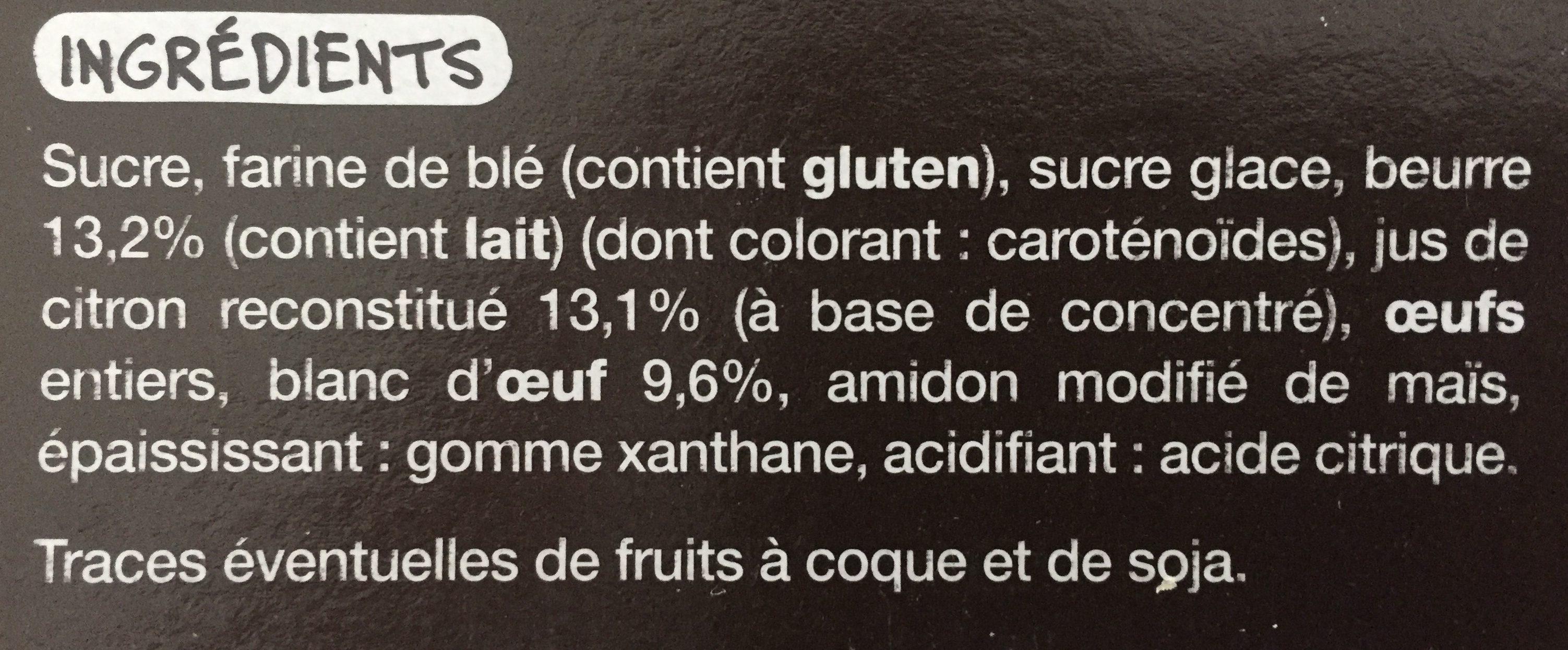 Tarte au citron meringuee mmm! - Ingredienti - fr