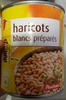 Haricots blancs prepares - Product