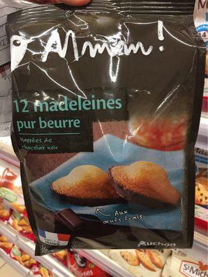 Madeleines Pur Beurre Nappés Chocolat Noir - Product