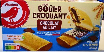 Mon goûter croquant chocolat lait - Product - fr