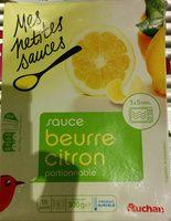 Sauce beurre citron portionnable - Produit - fr