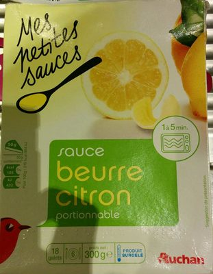 Sauce beurre citron portionnable - Produit