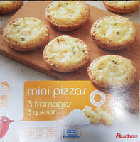 Mini pizza 3 fromages - Product - fr