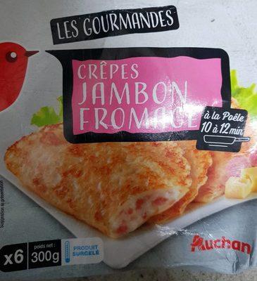 Crêpe jambon fromage x6 - Produit - fr