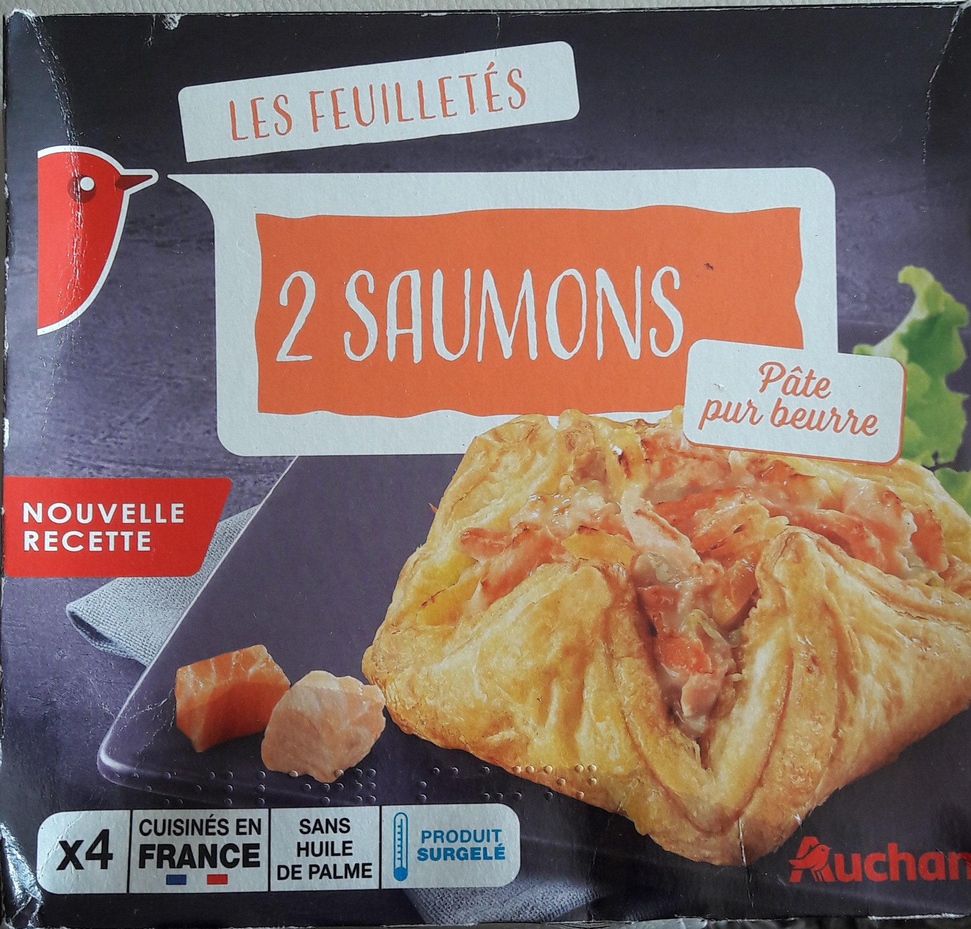 Feuilletés aux 2 Saumons - Product