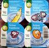 Yaourts arôme Banane - Fruits des Bois - Framboise - Abricot - Product