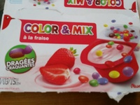 Color & Mix à la fraise - Produit - fr