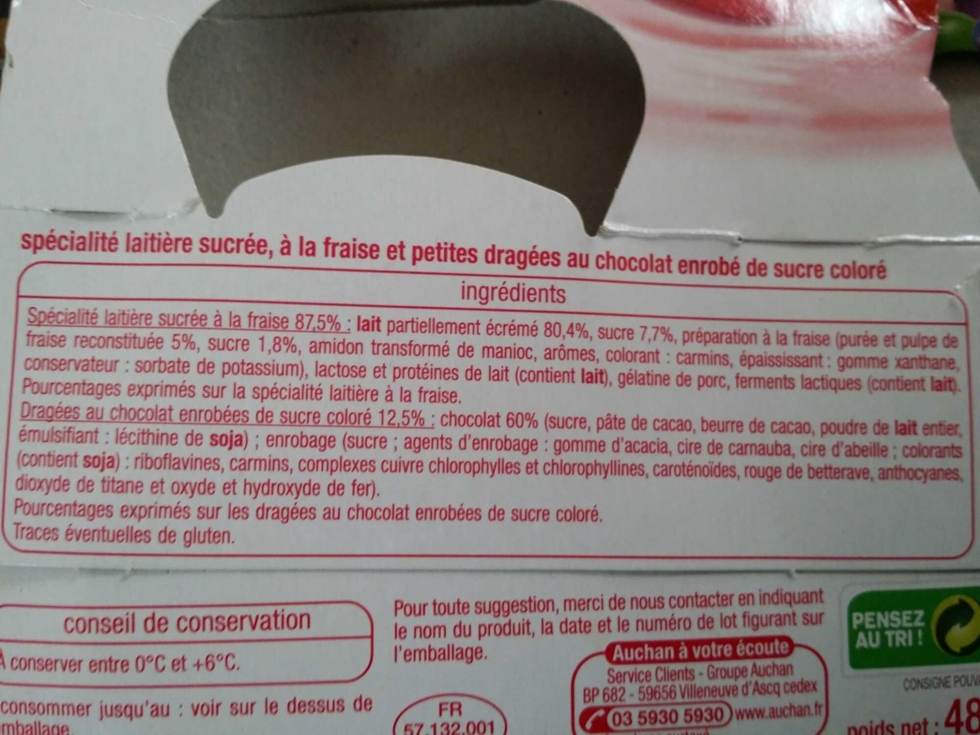 Color & Mix à la fraise - Ingrédients - fr