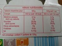 Color & Mix à la fraise - Informations nutritionnelles - fr