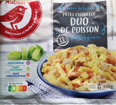 Pâtes et duo de poissons - Product - fr