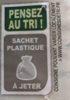 Pâtes et duo de poissons - Recyclinginstructies en / of verpakkingsinformatie - fr