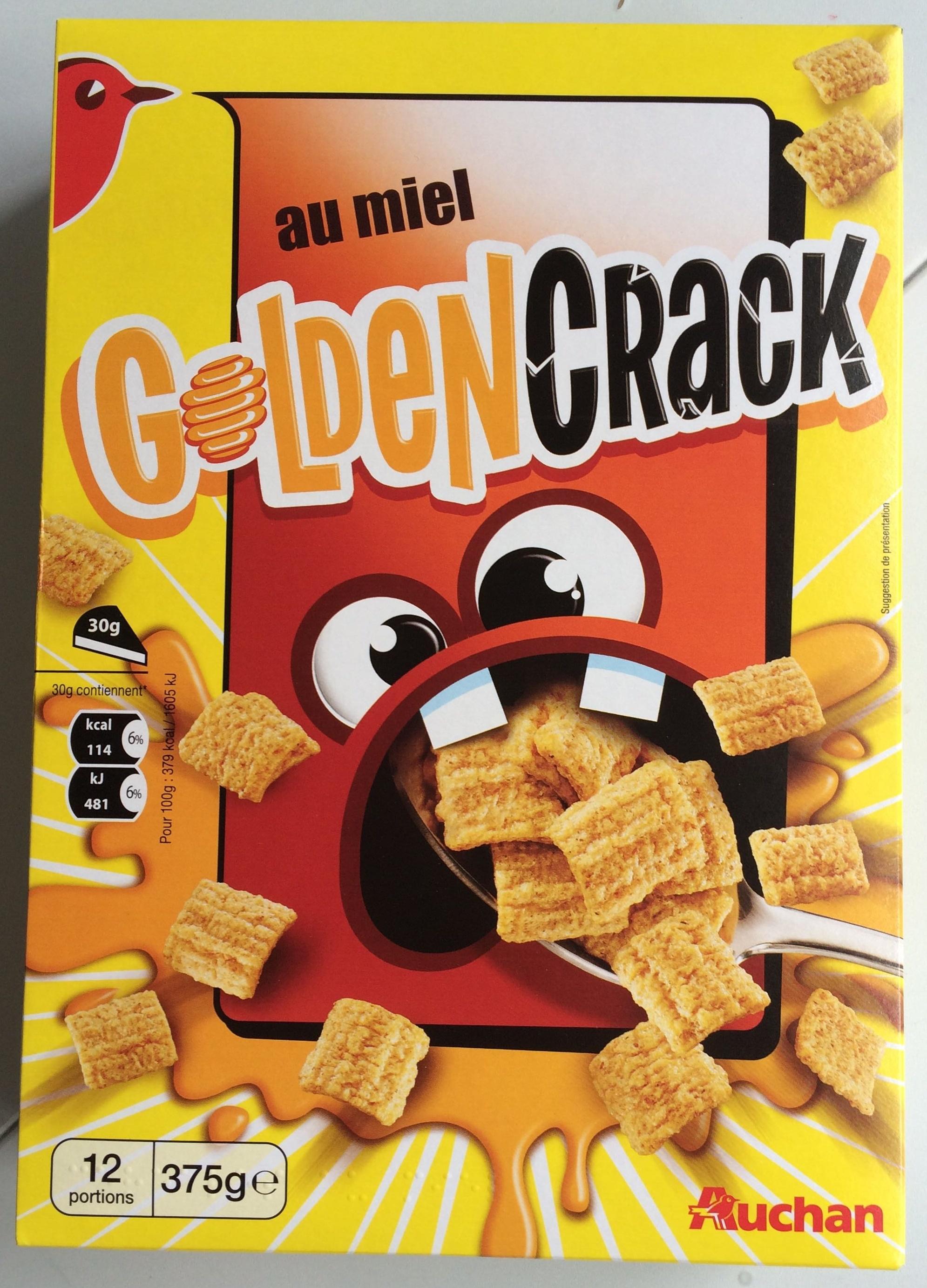 Golden Crack au miel - Produit - fr