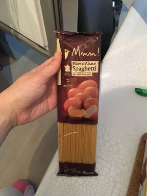 Pates d'alsace spaghetti terroir - Produit - fr