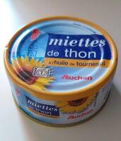 Miettes de thon à l'huile de tournesol - Product