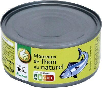 Morceaux de thon au naturel - Prodotto - fr