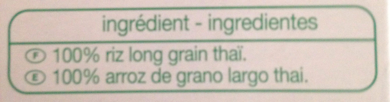 Riz Thaï - Ingrédients - fr