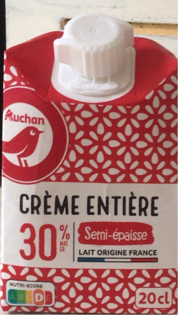Crème Entière Semi Epaisse - Produit - fr