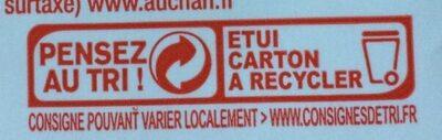 Crème Entière Semi Epaisse - Instruction de recyclage et/ou informations d'emballage - fr