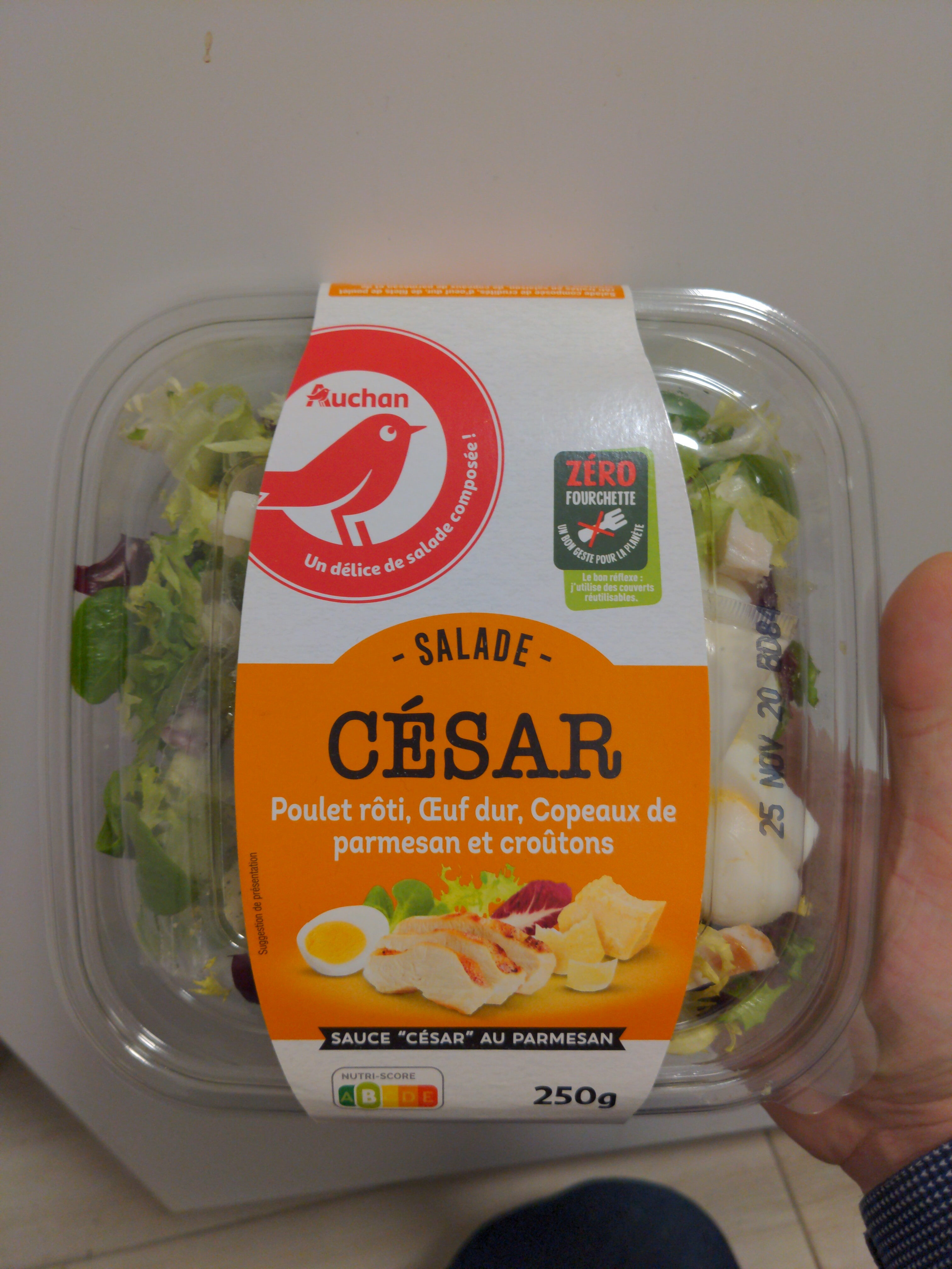 Salade Caesar Auchan - Produit - fr