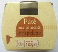 Pâté aux piments d'Espelette - Product